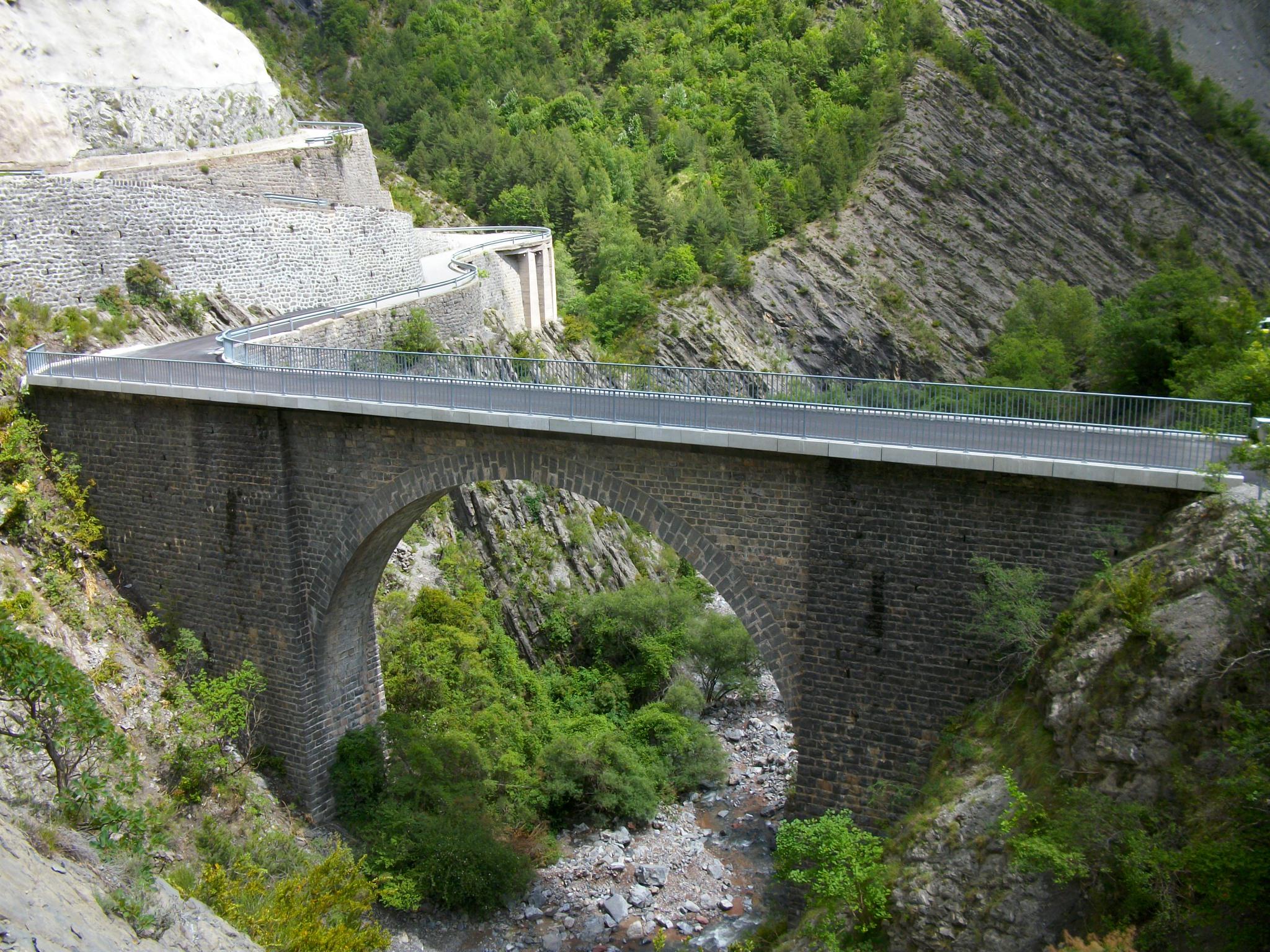 Pont du Roubi fini